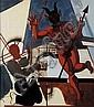 Jean Brusselmans (1884-1953) Le diable par la, Jean Brusselmans, Click for value