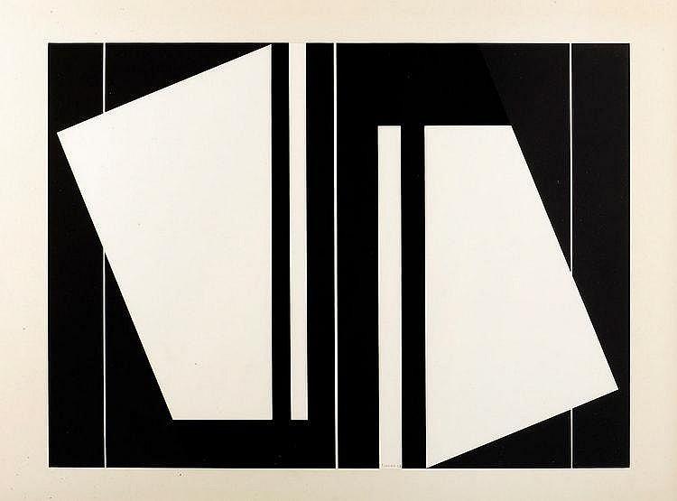 Gilbert Decock (1928-2007) Gouache VII, 1969