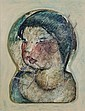 Auguste Mambour (1896-1968) Portrait de femme Bois, Auguste Mambour, Click for value