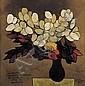 Oswaldo Guayasamin (1919-1999) Bouquet de fleurs,
