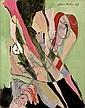 Jean Milo (1906-1993) Composition I, 1965 Huile, Emil