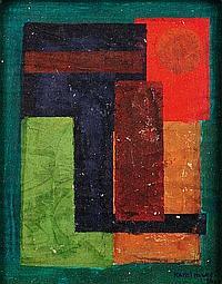 KAREL MAES (1900-1974) Composition, 1924 Gouache