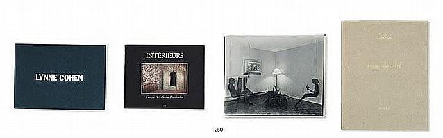 Ensemble de sept ouvrages et un tirage photographique :