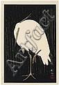 Koson Ohara (1877-1945) Aigrette sous la pluie Une, Ohara Koson, Click for value