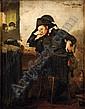 ADRIAAN DE LA RIVIÈRE (1857-1941) Le dernier verre, Adrianus Philippus