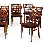 AINO AALTO (1894-1949) Suite de huit chaises à
