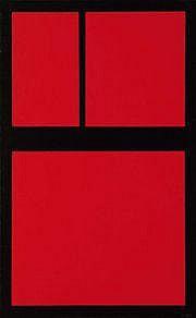 AMÉDÉE CORTIER (1921 - 1976) Zwart en rode