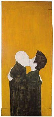 DJAMEL TATAH (NE EN 1959) Sans titre, 1992 Huile,