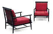 PAUL MCCOBB (1917-1969) Paire de fauteuils à haut