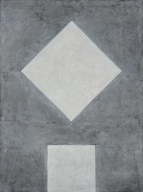 DAN VAN SEVEREN (1927-2009) Compositie 1, 1970-1971 Acrylique sur toile. Signée et datée au dos. H_130 cm L_197 cm