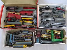Selection of Lone Star Trains and track