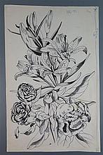 John Nash RA (1893-1977), The Countryside Book June, original pen and ink i