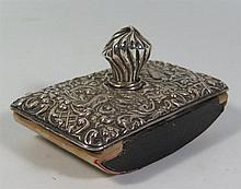 An Edward VII Silver Ink Blotter, Birmingham 1903