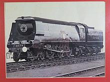 A Photographic Print of BUDLEIGH SALTERTON Westcountry Class 4-6-2 Locomoti