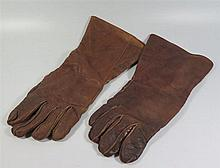 A Pair of WW2 RAF Leather Flying Gloves