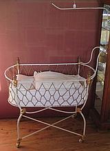 A Victorian Babies Cot