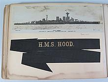 Two Photograph Albums of Royal Navy, Family Photographs and Theatre Program