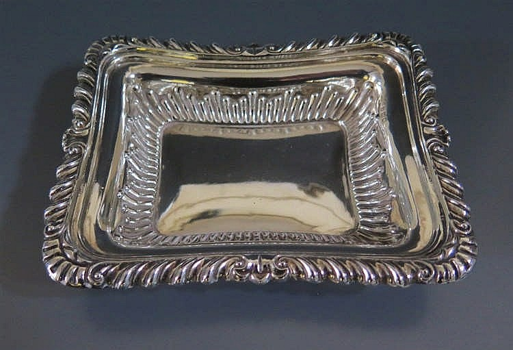 A victorian silver dish sheffield 1897 85 g 13 x 10 cm for Timetable 85 sheffield