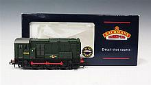 Bachmann 'OO' Gauge Ivatt Class 2 2-6-2T boxed and 08 Diesel Shunter