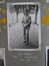A 1935/36 Black & White Photograph Album of Belgium, Holland, England, Germ