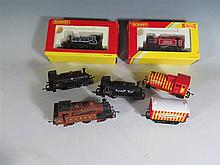 Six Hornby 'OO' Gauge Trains