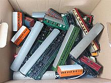 A Collection of 'OO' Gauge Carriages and Rolling Stock