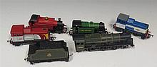 Hornby 'OO' Gauge 2-6-0 Royal Scot with tender and four other engines