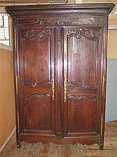 An Eighteenth Century French Oak Armoire