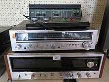 Trio Stereo Receiver Model KR-2010L, Pioneer Stereo Receiver Model SX-838 a