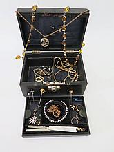 A Selection of Old Costume Jewellery