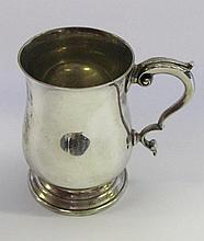 A George V Silver Beer Mug, London prob. 1932,