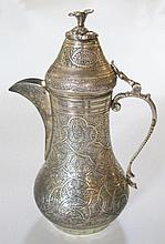 An Eastern Silver Coffee Pot, 362g / 11.65oz