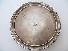 A George III Silver Salver, 18cm, 320g / 10.29oz,