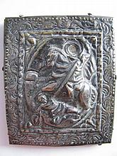 A Silver Icon, marked 900, 7.5 x 6cm