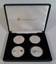Jubilee Mint 2015 Silver Coins of The World Set
