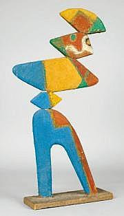 Jean LAMBERT-RUCKI - 188-1967 ARLEQUIN Sculpture
