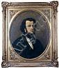 Thomas COUTURE - 1815-1879 PORTRAIT D'HOMME AUX