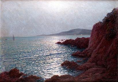 Jean KEULEYAN-LAFON - 1886-1973 CÔTE ROCHEUSE AU