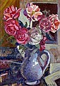 Maurice SAVREUX - 1884-1971 VASE DE FLEURS Huile, Maurice Savreux, Click for value