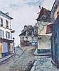 Francis LE COADIC (né en 1912) MONTMARTRE, LA RUE, Francis LeCoadic, Click for value