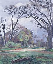 Maurice Georges PONCELET - 1897-1978 EN FORÊT, À