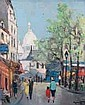Marcel MASSON - 1911-1988 LA PLACE DU TERTRE À, Marcel Masson, Click for value