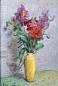 Henri VINCENT-ANGLADE 1876-1956 VASE D'ANÉMONES,, Henri Vincent Anglade, Click for value
