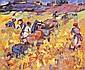 CLUSEAU-LANAUVE Jean 1914-1997 LES VENDANGES Huile, Jean Cluseau-Lanauve, Click for value