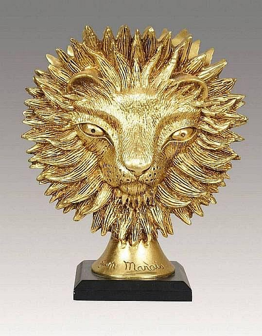 MARAIS Jean (1913-1998) LE LION Sculpture en
