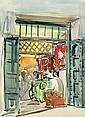 FAURE Elisabeth (1906-1964) CHEZ LE TAILLEUR, Elisabeth Faure, Click for value