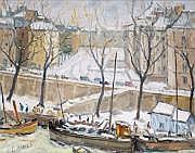 Charles MALLE, né en 1935 PARIS, LE QUAI DES