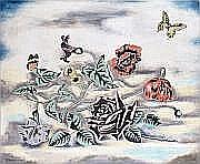 Sei KOYANAGUI - 1896-1948 FLEURS ET PAPILLONS.