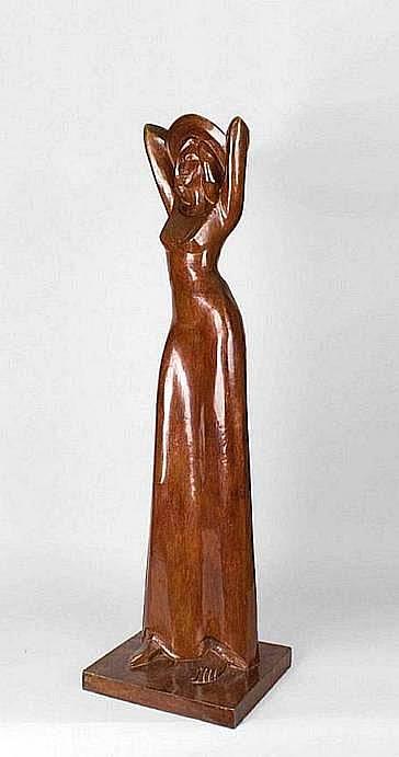 BROCHET François 1925-2001 L'ÉTÉ Épreuve en bronze
