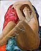 BONNEFOIT Alain né en 1937 DINA Acrylique sur, Alain Piere Bonnefoit, Click for value